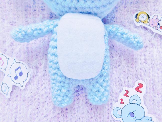 BT21 Koya Plush Crochet Pattern