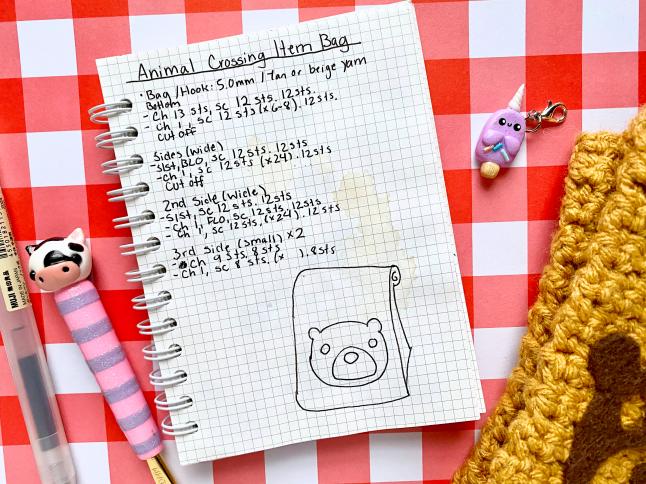How I Write Crochet Patterns
