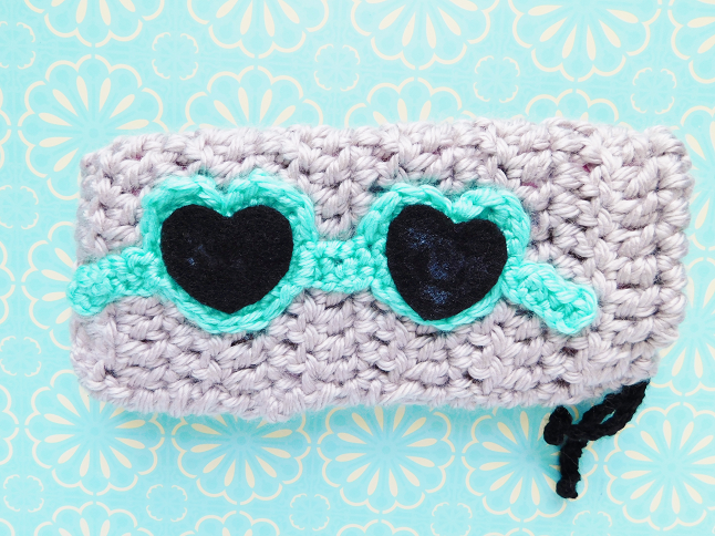 Sunglasses Pouch Crochet Pattern