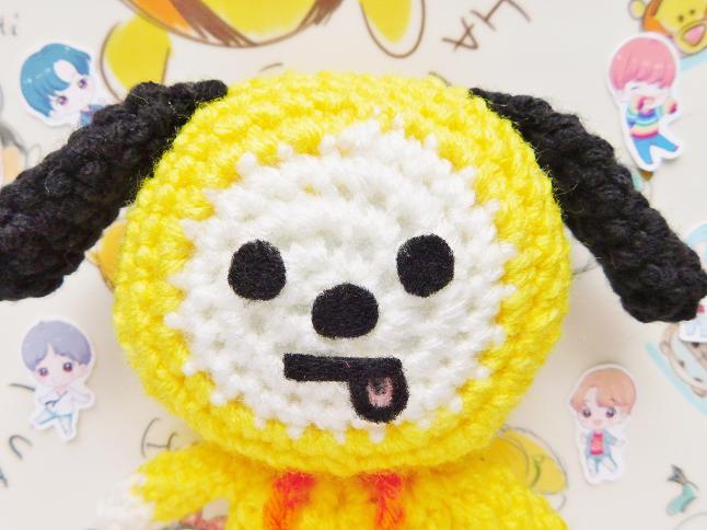 BT21 Chimmy Plush Crochet Pattern
