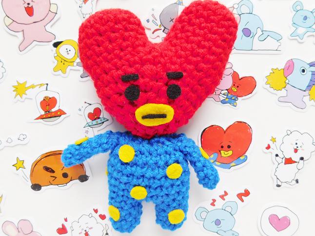BT21 Tata Plush Crochet Pattern