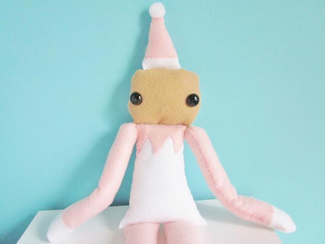 Elf On The Shelf Felt Plush DIY
