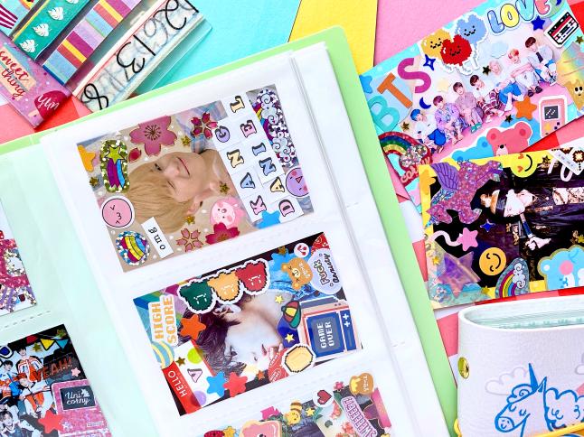 Making DIY K-pop Deco Polaroids