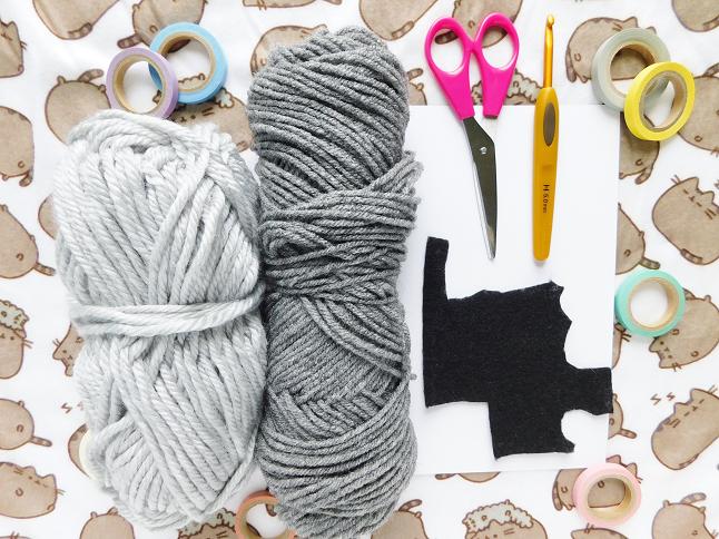 Pusheen Card Crochet Pattern
