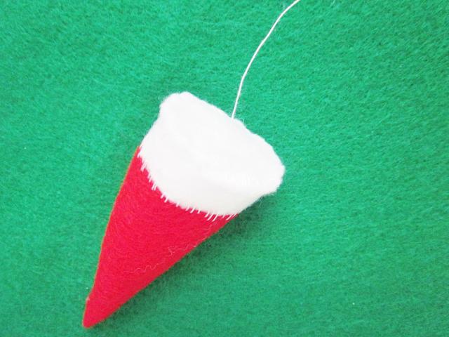 Christmas Hair Clips DIY