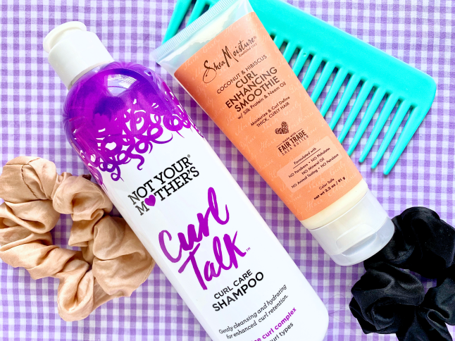Curly Girl Hair Drugstore Haul + First Impressions