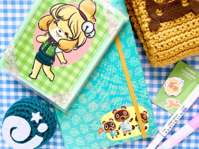 Animal Crossing New Horizons Journal Setup