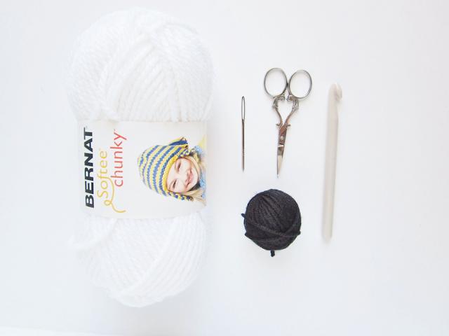 Crochet Polar Bear Rug