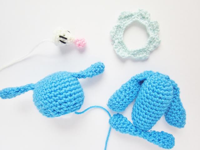 Popplio Plush Crochet Pattern