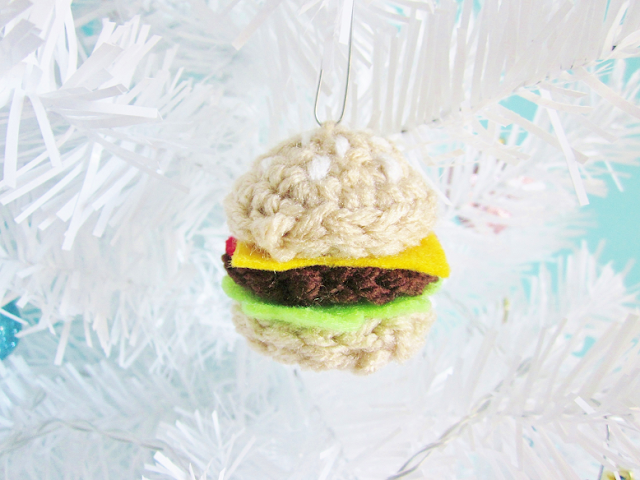 Fast Food Crochet Ornaments