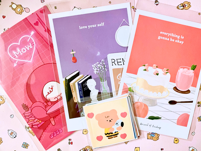 Collective Korean Stationery Haul