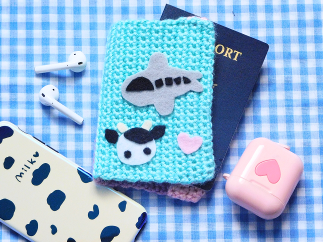 ColorBlock Passport Cover Crochet Pattern