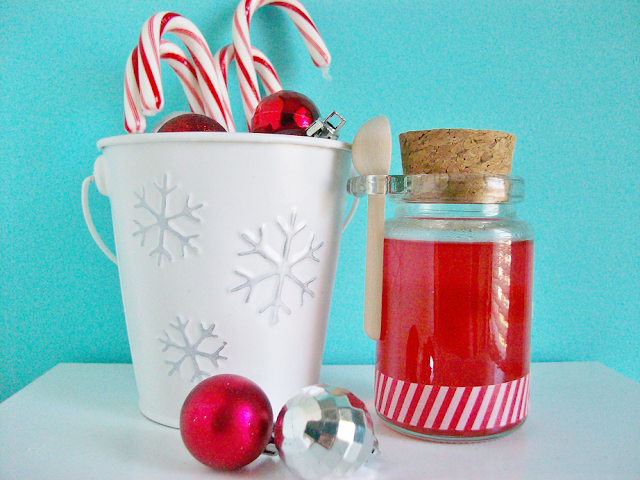 Candy Cane DIY Syrup