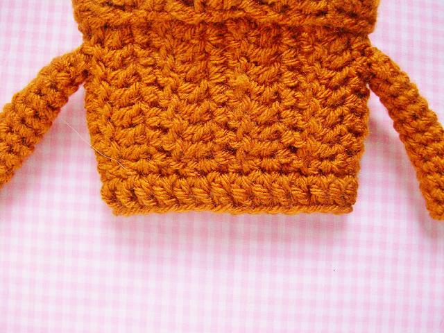 Starbucks PSL Sweater Coffee Cozy Crochet Pattern
