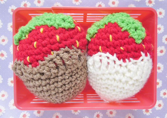 Chocolate Strawberry Crochet Pattern