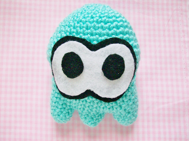 Crocheted Splatoon Squid