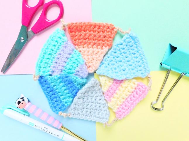 Striped Garland Crochet Pattern