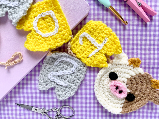 2021 Year of the Cow Banner Crochet Pattern