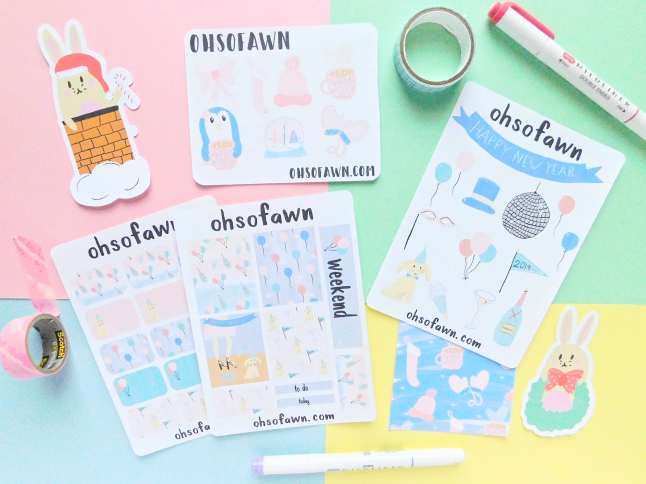 Collective Winter Stationery Haul