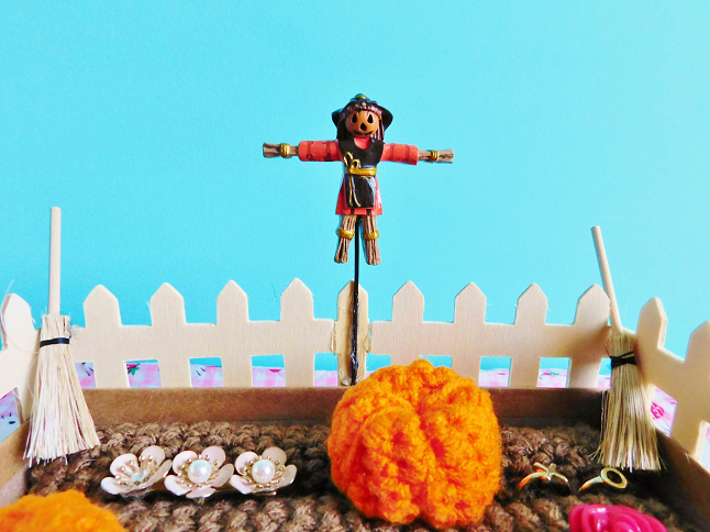 Pumpkin Patch Ring Holder