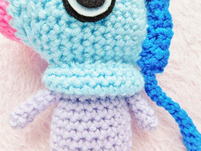 BT21 Mang Crochet Pattern