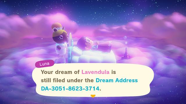 Animal Crossing Dream Address Spring 2020