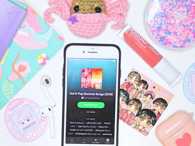 Hot K-Pop Summer Playlist