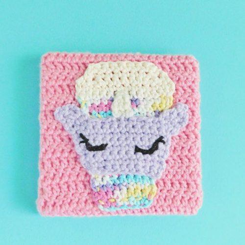 Unicorn Crochet Canvas