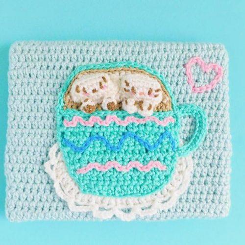Cappuccino Crochet Canvas