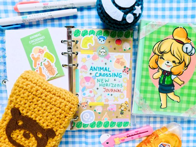 Animal Crossing New Horizon Journal Spread