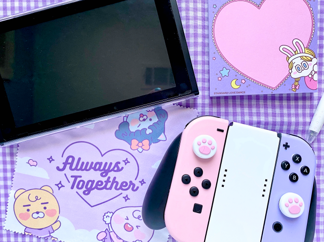 Kawaii Nintendo Switch Makeover